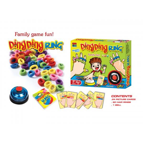 Весела родинна гра Ding ding ring
