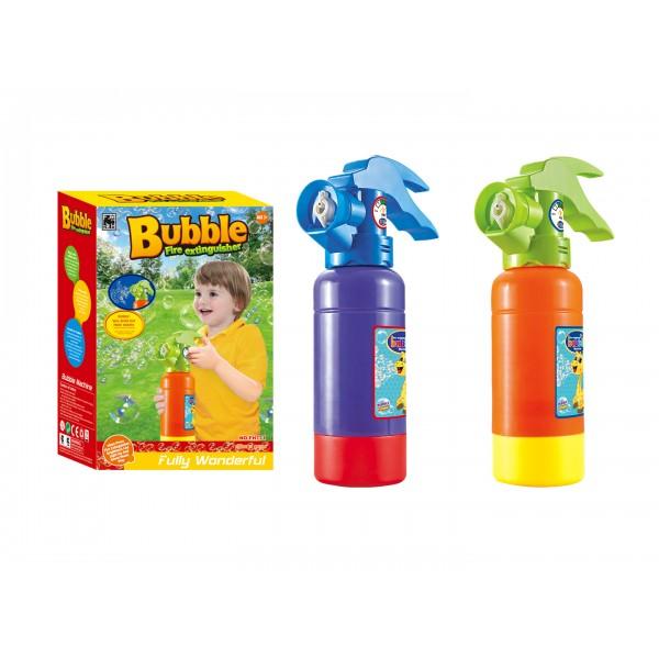 Вогнегасник з мильними бульбашками
