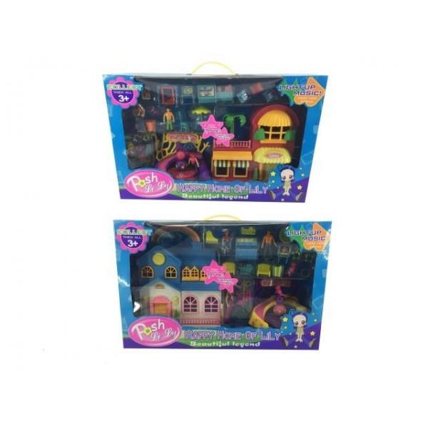 Будинок іграшковий, світло, звук, 1124AB