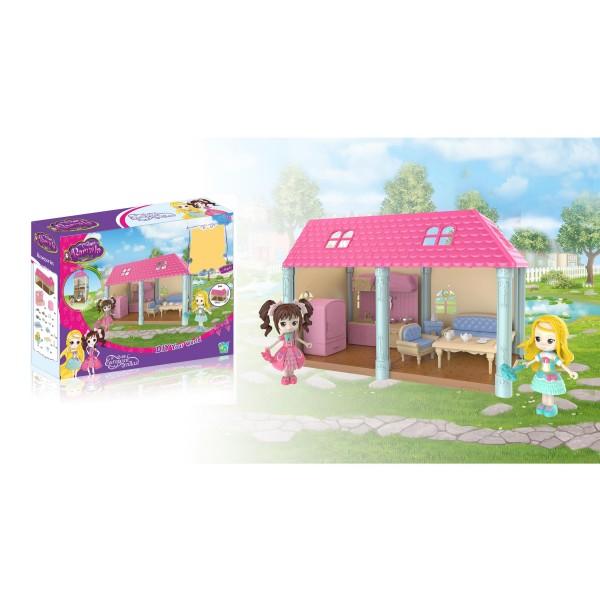 Набір іграшковий будинок на 2 кімнати